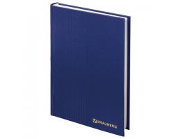 Ежедневник датированный на 4 года А5 145х215 мм BRAUBERG бумвинил 192 л., синий, 123521