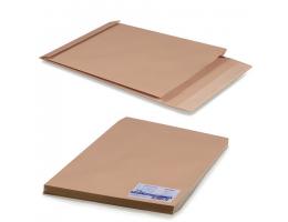 Конверт-пакет Е4+ объемный (300х400х40мм) до 300 лист, крафт, отрыв.полоса, КОМПЛЕКТ 25шт, 302127.25