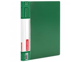 Папка с мет. скоросш. и внутр. карм. BRAUBERG Contract, зеленая, до 100 лист, 0,7мм,бизнес-класс