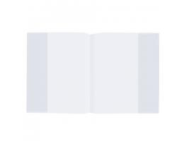 Обложка ПП д/тетради и дневника STAFF/ПИФАГОР прозрачная, 35мкм, 210*350мм, 225182