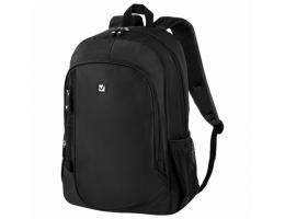 Рюкзак BRAUBERG B-TR1606 для старшеклассников/студентов, 22 л, черный,