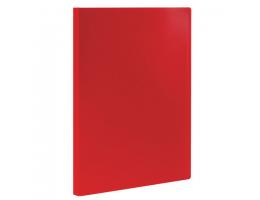 Папка  10 вклад. STAFF, красная, 0,5мм, 225690