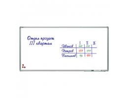 Доска магнитно-маркерная 120х240 см, алюминиевая рамка, лаковое покрытие, 2х3 (Польша), TSA1224