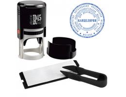 Печать самонаборная GRM R45 plus, 2,5 круга, касса в комплекте