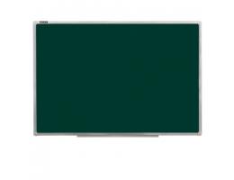 Доска для мела магнитная (90х120 см), зеленая, ГАРАНТИЯ 10 ЛЕТ, РОССИЯ, BRAUBERG, 231706