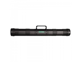 Тубус для чертежей СТАММ, диаметр 9 см, длина 68 см, А1, черный, с ручкой, ПТ21