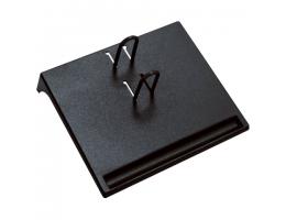 Подставка для календаря малая СТАММ 175*205*37 мм, черная, ПК21