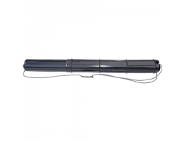 Тубус для чертежей СТАММ телескопический, диаметр 9 см, длина 70-110 см, А0, черный, на шнурке, ПТ01