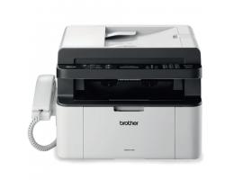 МФУ лазерное BROTHER MFC-1815R (принтер, копир, сканер, факс), А4, 20 стр./мин, 10000 стр./мес., АПД (б/к USB), MFC1815R1