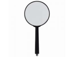 Лупа просмотровая BRAUBERG, диаметр 100 мм, увеличение 3, 451802