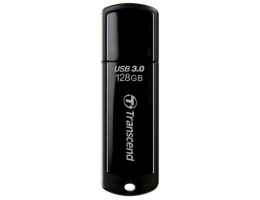 Флеш-диск 128 GB TRANSCEND Jetflash 700 USB 3.0, черный, TS128GJF700