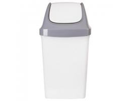 Ведро-контейнер 50л С КРЫШКОЙ (качающейся), для мусора,