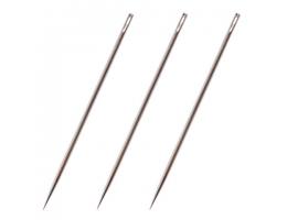 Иглы для прошивки документов (цыганские), КОМПЛЕКТ 3 шт, дл.80 мм, диам.1,8 мм, в блистере, ш/к41985
