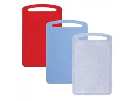 Доска разделочная пластиковая (в0,8*ш19,5*г31,5см), цвет микс (разноцветшый), IDEA, М 1573