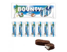 Шоколадные батончики BOUNTY, мультипак, 7 шт. по 27,5 г (192,5 г), 2290
